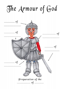 Fill in the blanks - Armour of God