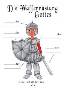 Lückentext - Die Waffenrüstüng Gottes